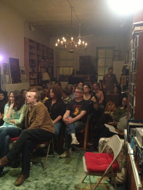 Audience / 1st Reading, New York, March 2013