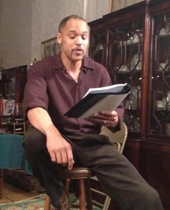 "1st reading of ""American Moor,"" Manhattan Apartment of the director, March, 2013"