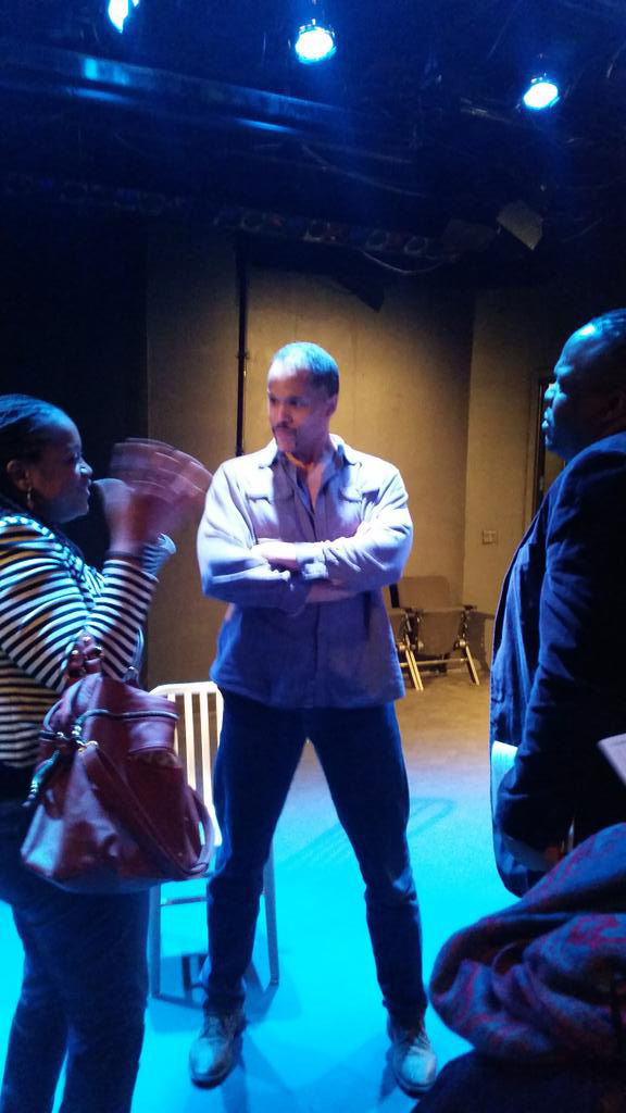 """American Moor"" post-show audience interaction 2/28/15."
