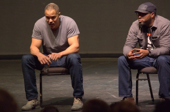 Post-Performance discussion with playwright and educator, Idris Goodwin