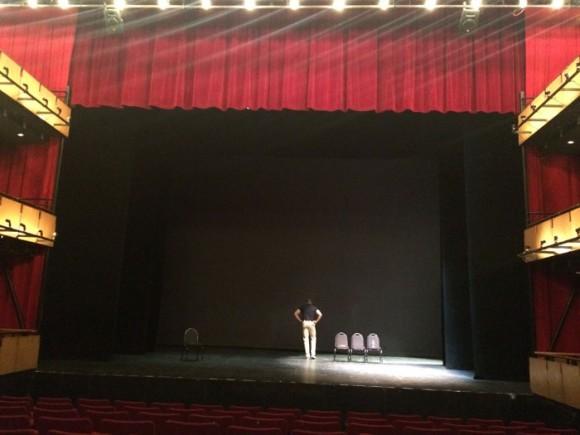 Rehearsal Rawls Courtyard Theatre, Denver 2/19/16