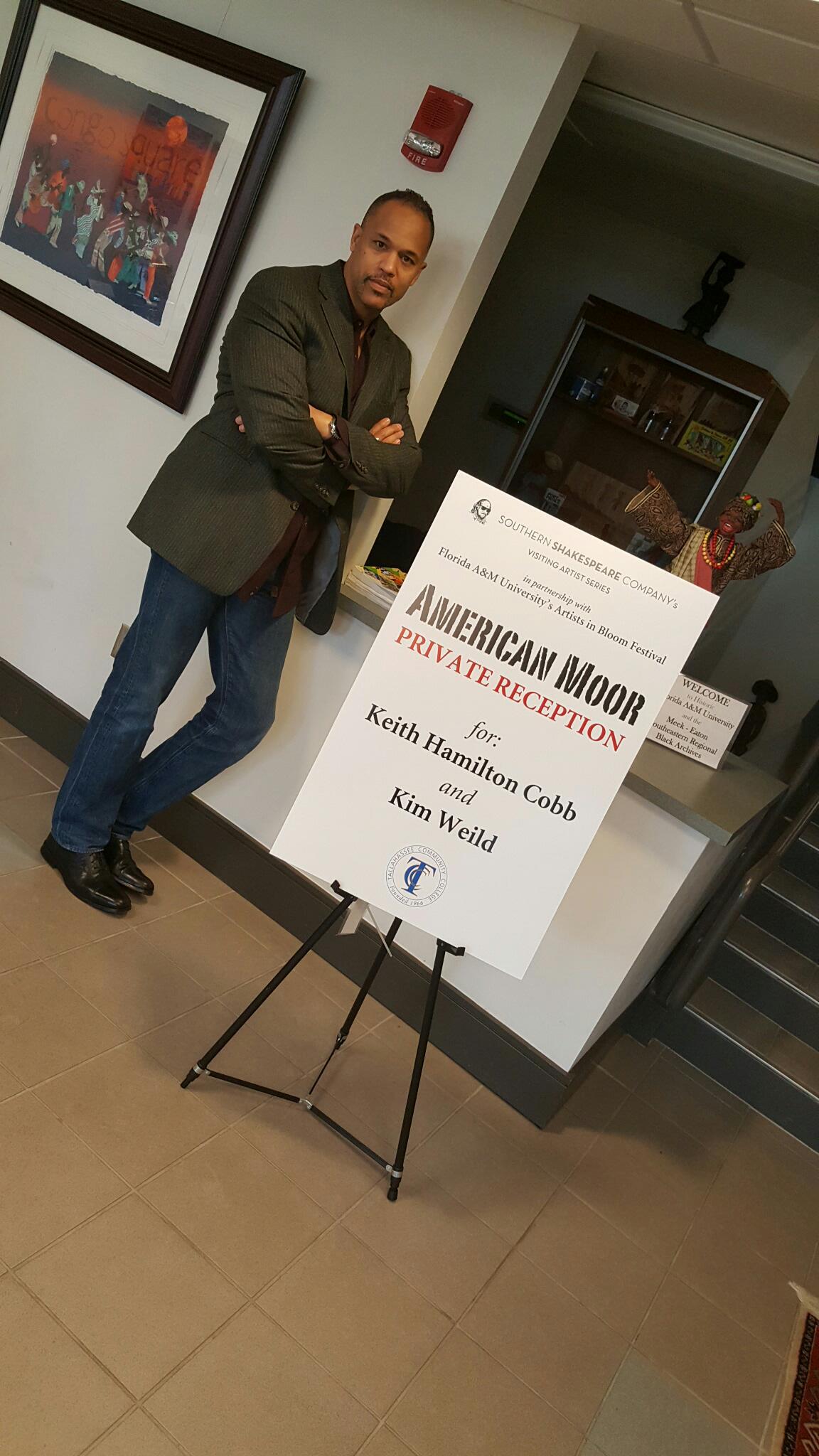 Reception at Meek-Eaton Black Archives