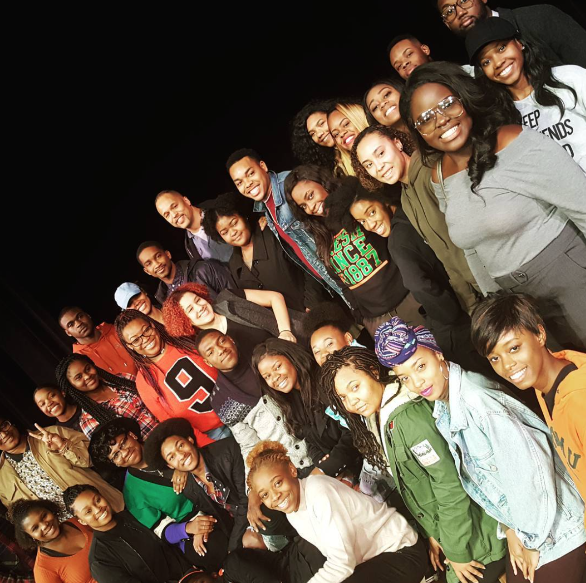 With the FAMU Essential Theatre students