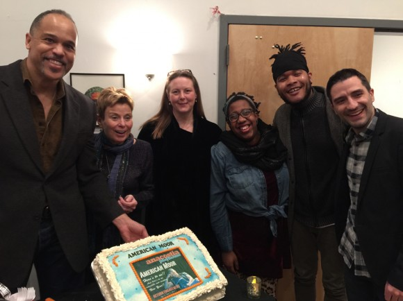 "Artistic director of Anacostia Playhouse, Adele Robey, director, KIm Weild, assistant to the director, Sisi Reid, lighting designer, John, ""Juba"" Alexander, actor Josh Tyson"